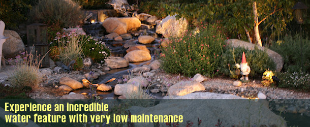 koi ponds waterfalls pondless systems in orange county ca